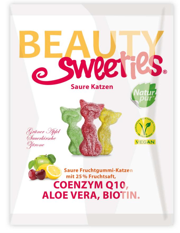Beauty Sweets Saure Katzen Fruchtgummi