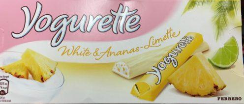 Yogurette White mit Ananas-Limette (würg).