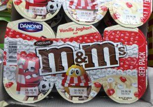 Danone Mars M+M Joghurt Österreich