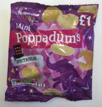 Chips: Mini Poppadums schmecken genau nach nichts.