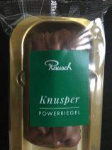 Rausch Knusper Powerriegel Schokolade