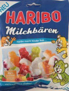 Gummi: Neu entdeckt im Sommer 2016: Haribo Milchbären. Für meine Begriffe etwas zu fest, aber trotzdem lecker.