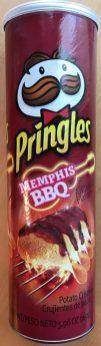 Pringles USA Memphis BBQ
