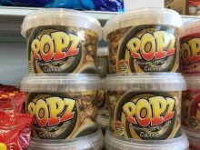 Popz Popcorn mit Kaffeegeschmack aus Italien