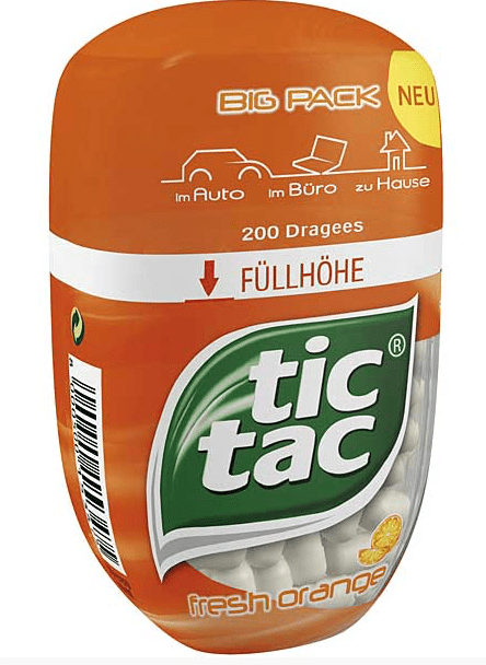 TicTac Orange