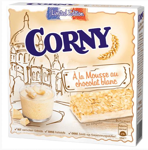 Corny Riegel Weiße SChokolade