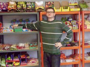 Jörn Stalter betreibt den Onlineshop naschig.de