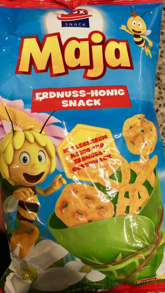 XOX Biene Maja Erdnuss-Snack mit Honig