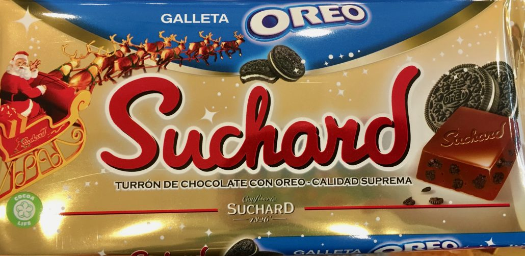 Suchard Schokolade mit Oreo-Keks