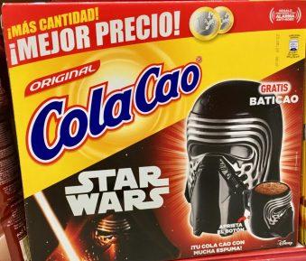 ColaCao Kakao Star Wars