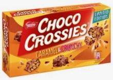 Von Nestlés Choco Crossies gibt es auch ein Karamell-Spin-off