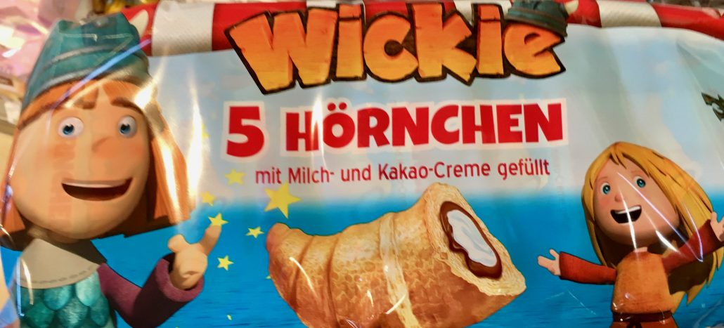 Croissants Hörnchen Verpackt Wickie Lizenz