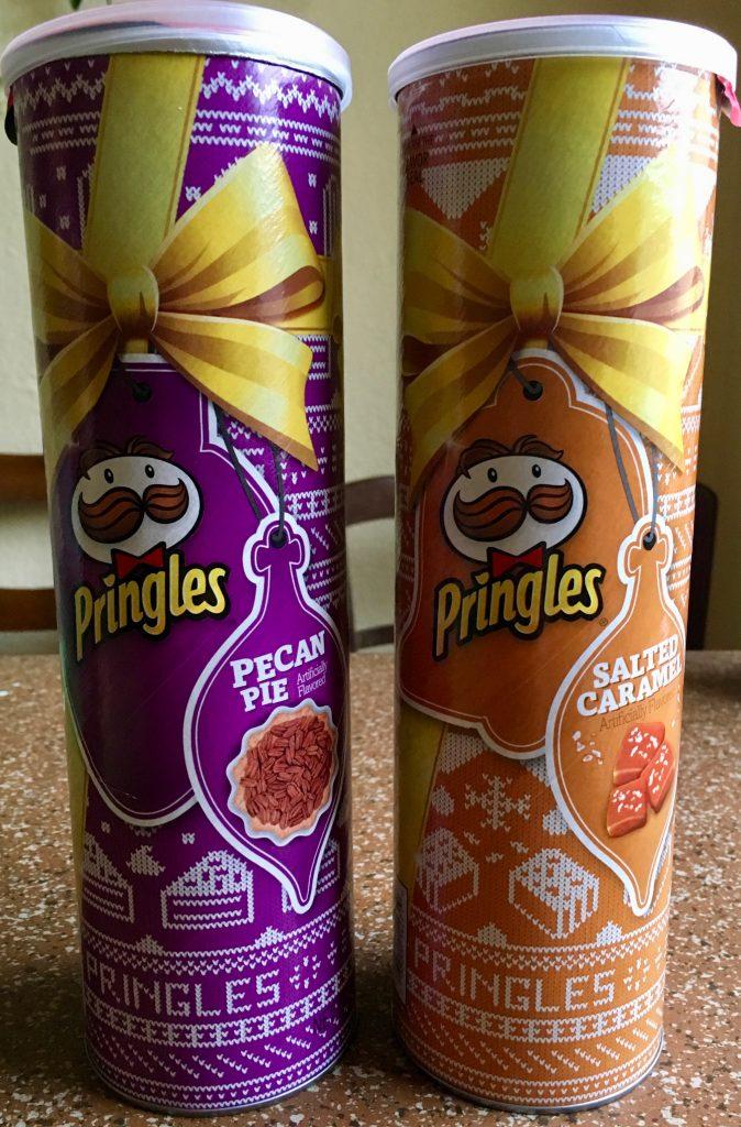 Pringles Sondereditionen Pecan Pie und Salted Caramel
