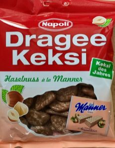 Napoli Dragee Keksi Haselnuss à la Manner