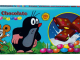 Der kleine Maulwurf / Little Mole auf Taafelschokolade mit Schokolinsen
