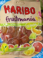 Haribo Fruitmania Lemon