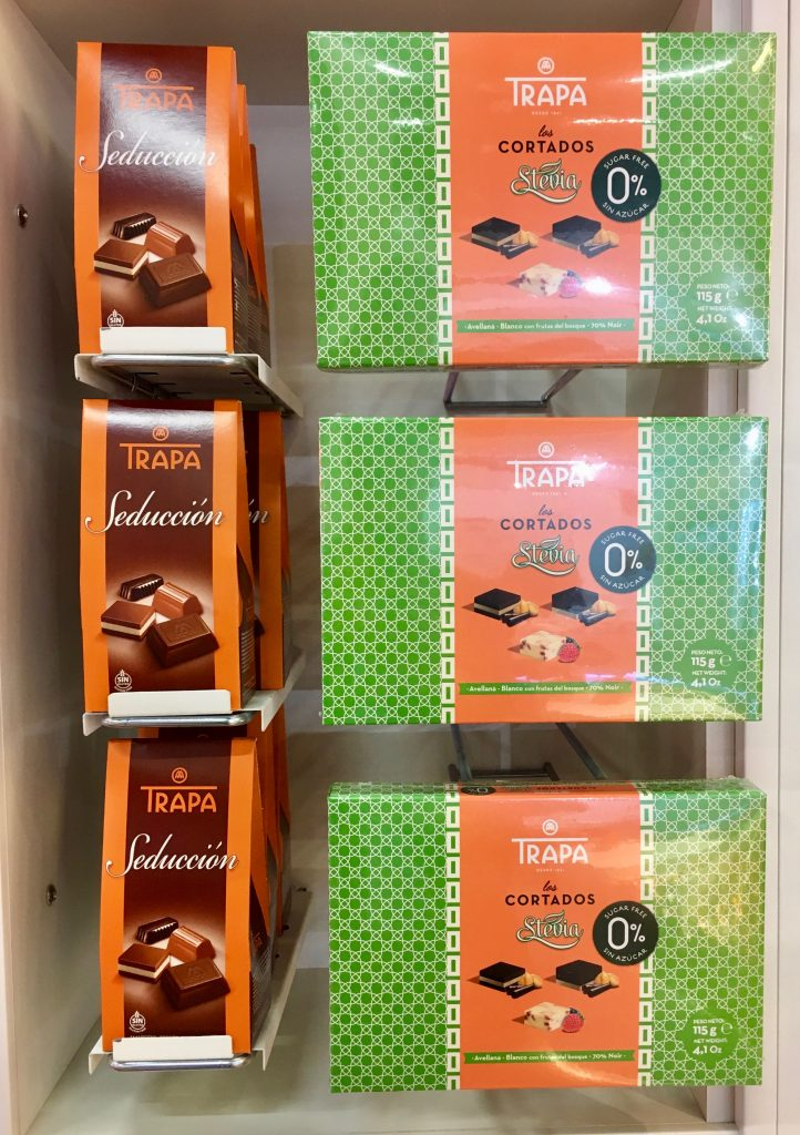 Trapa Pralinen Schokolade Spanien