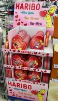 Haribo Display Valentinstag 2017