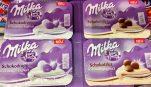 Milka Schokotaler mit Vanillajoghurt