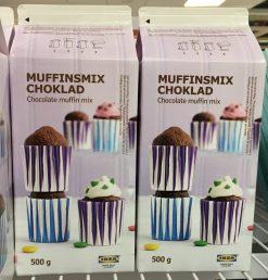 Backmischung für Schoko-Muffins bei IKEA