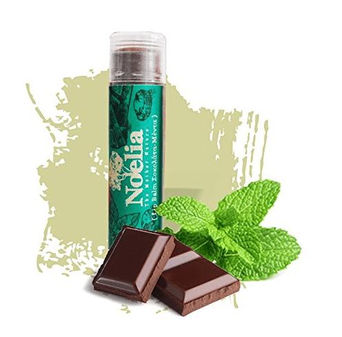 Lippenpflegestift mit Minze-Schoko-Geschmack