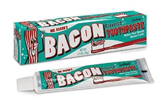 Bacon Zahncreme mit Speckgeschmack