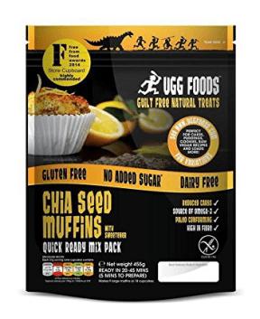 Superfood Shiasamen Muffins von Ugg Foods