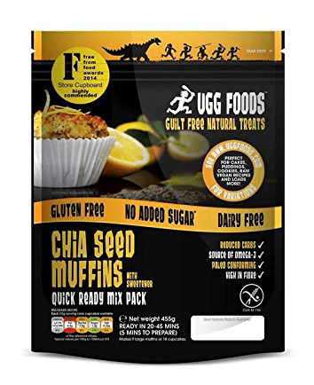 Superfood Shiasamen Muffins von Ugg Foods