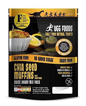 Shiasamen Muffins von Ugg Foods.