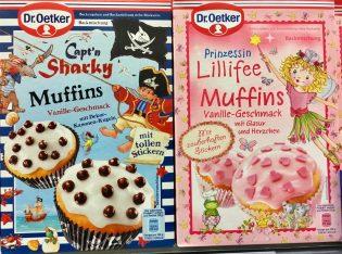 Dr. Oetker Kuchenbackmischungen Capt'n Sharky und Prinzessin Lillifee