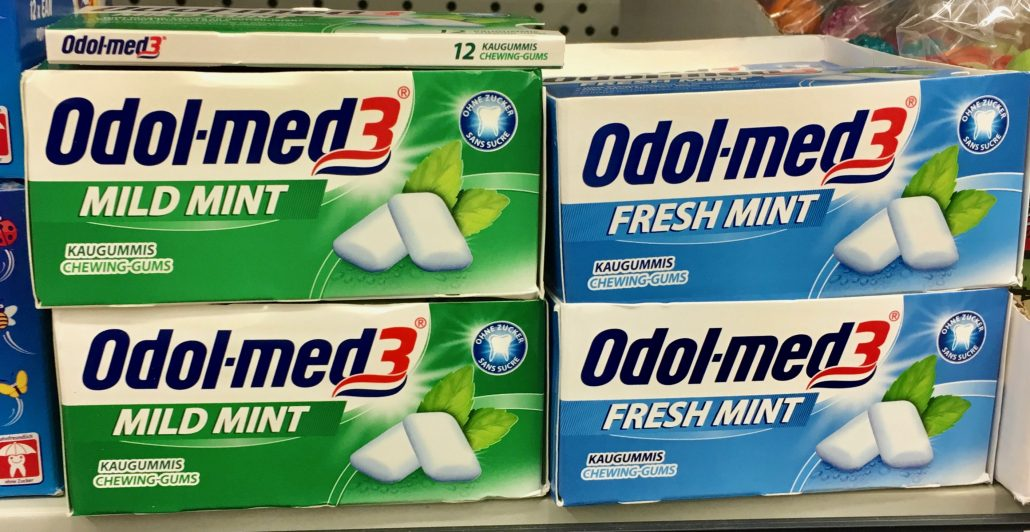 Odeo-med3 Mild Mint und Fresh Mint