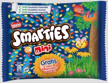 Nestlé Smarties 13xMini Gratis Pflanzensamen