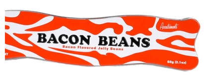 Bacon Beans Bacon Flavored Jelly Beans Dose oben