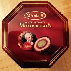 Echte Salzburger Mozartkugeln Mirabell Mondelez Pistazie