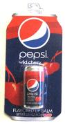 Was Coca Cola kann, kann Pepsi natürlich erst recht! Darf ich vorstellen: Pepsi Wild Cherry als Lippenstift in der Mini-Dose.