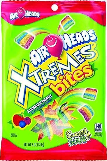 Airheads Xtremes bites Rainbow
