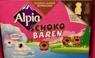 Alpia Schokobären Vollmilch und weisse Schokolade