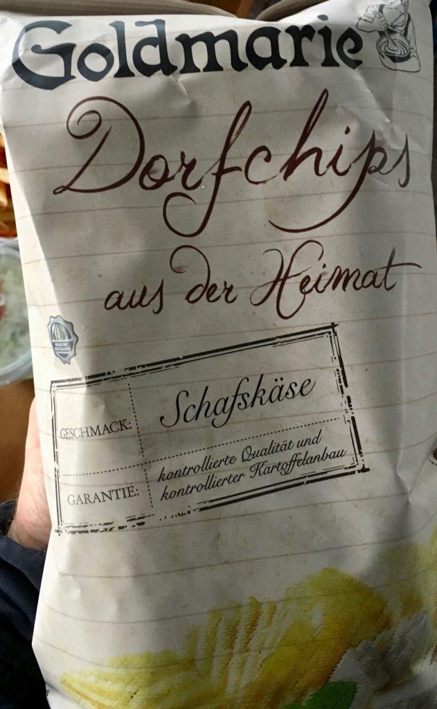 Goldmarie Dorfchips aus der Heimat Schafskäse
