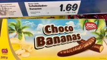 Choco Bananas Mister Choc Lidl