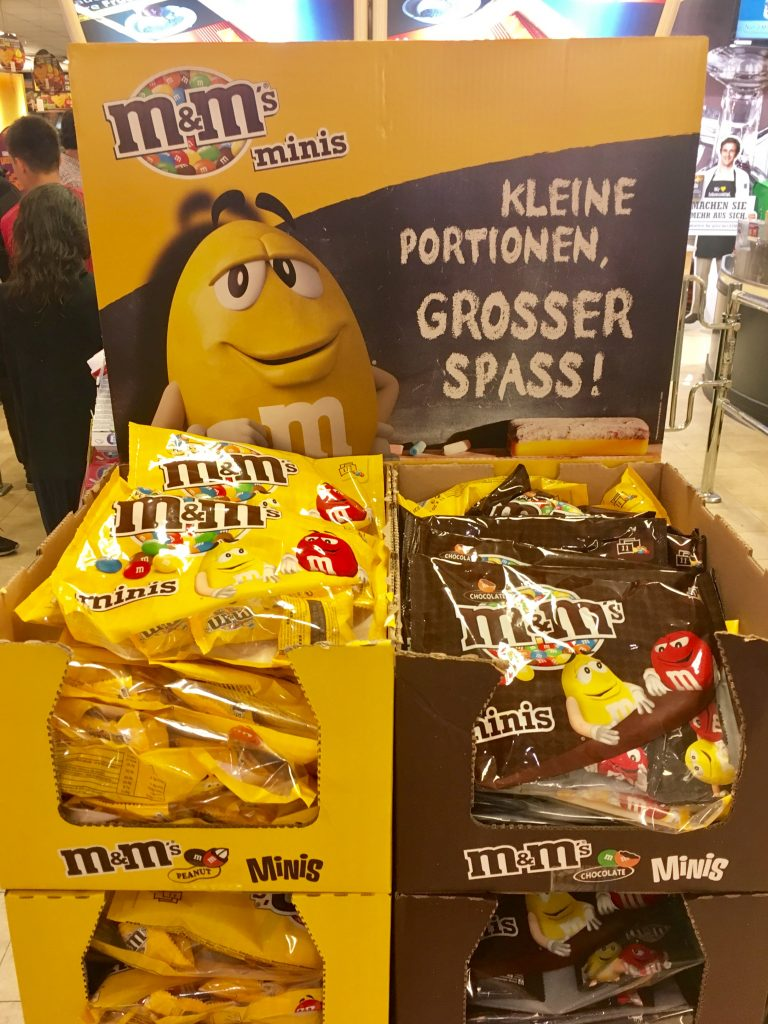 Mars M+M Mini-Packungen