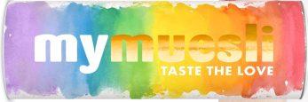 mymuesli rainbow-Edition im Pride Month Juli 2018