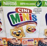 Nestle CiniMinis mit Minions-Motiv