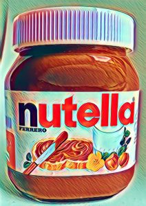 Nutella art