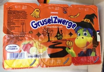 Fruchtzwerge Gruselzwerge Halloween Joghurt