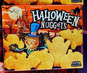 Lidl Halloween Chicken Nuggets
