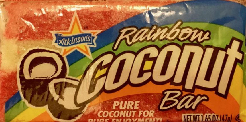Atkinsons Rainbow Coconut Bar