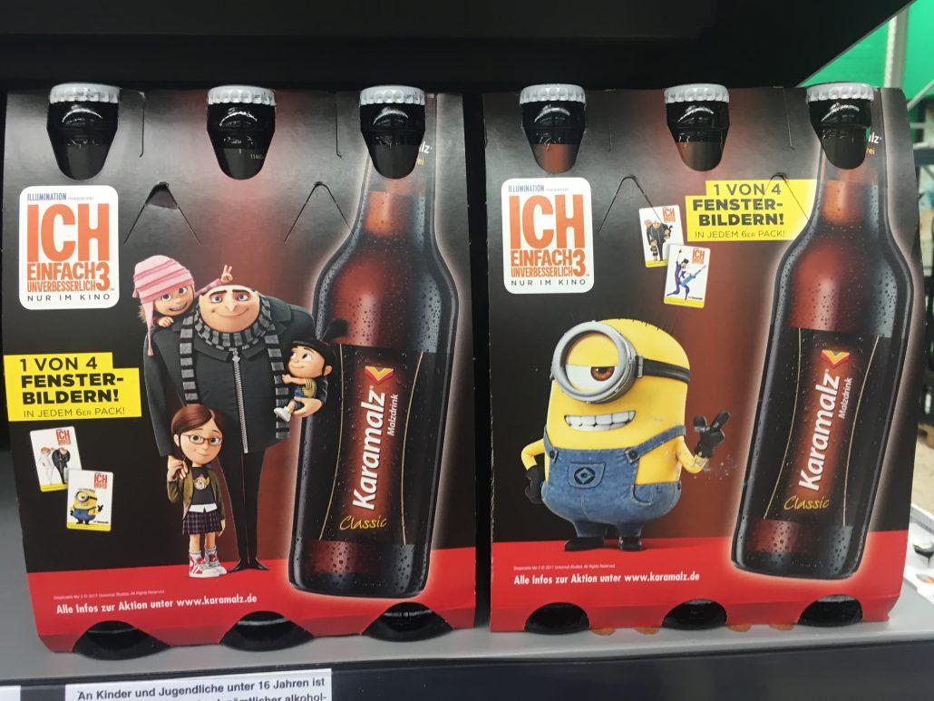 Bier mit Minions