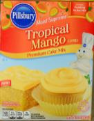 Pillsbury Tropical Mango Cake Mix