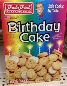 Budi's Beste Cookies Birthday Cake Rainbow