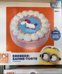 B + F Bakery+Food GmbH Minions Einhorn Torte